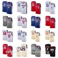 Basketball Jersey21 Joel Embiid25 Ben Simmons3 N.iversonBasketball Jersey