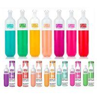 Top Quality Flum Float Disposable Pod Device Kit E-cigarettes 3000 Puffs 500mAh Battery 10 Colors Prefilled 8ml Cartridge VS Puff Plus Bang XXL