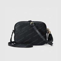 2021 سوهو ديسكو حقيبة كاميرا crossbody إمرأة شولر أكياس أسود جلد القابض حقيبة الظهر محفظة fannypack 308364 21/15 / 7 سنتيمتر # XYB01