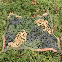 Camouflage Net Green Desert Black Trichromatic Camo Netting Hunting Camping Sun Shelter Car Cover Blinds Tents And Shelters