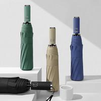 傘2021製品12ボーン自動傘黒プラスチックサンシェードサンメンズビジネスParasol