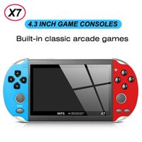 X7 Handheld Game Console 4.3 Inch Screen Player Video Games USB Retro 8GB Support for TV Output with Music Play E-Book