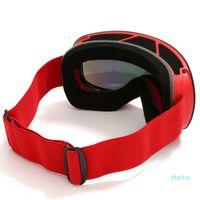 Loogdeel 2021 Skiing Eyewear Cycling Sunglasses Men Women Ski Goggles UV400 Anti-fog Big Ski Mask Glasses Snow Snowboard Polari