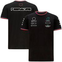 2021 Summer Season F1 Formula One Racing T-shirt a maniche corte Sport Turno girocollo Tee con la stessa personalizzazione