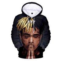 Mens Designer t shirts Casual 3d Xxxtentacion Men Woman Hoodie Boy Girl Fashion Pullovers Autumn and Winter Pop Singer Suitable Sweatshirt