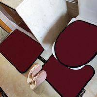 패션 프린트 화장실 시트 커버 개성 INS 홈 오버코트 화장실 케이스 고품질 비 슬립 목욕 매트