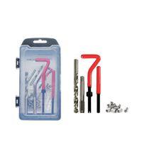 Hand Tools Threads Repair 15 25pcs Screw Thread Inserts M5 M6 M8 M10 M12 Twist Drill Bit For Restoring Damaged Tool Kit