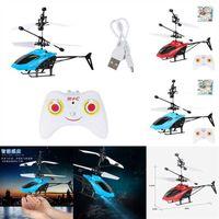Nail Art Kits Eletrônico Helicóptero Elétrico Controle Remoto RC RC Avião UFO Drone Crianças Voando Sentindo Aeronaves Mini Modelo Pequeno Brinquedo