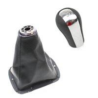 자동차 스타일링 기어 시프트 커버 크롬 기어 T25 MK2 II 2003-2009 용 크롬 기어 시프트 노브 부트 프레임
