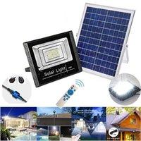 Solar Lamps 25W 45W 65W Garden Light Outdoor Waterproof LED Floodlight Spotlight Lamp IP67 Park Flood