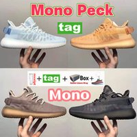 Top Mono Pack V2 Running shoes ice Blue clay cinder white men sport sneakers Cool Summer women fashion trainers with box