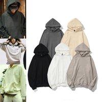 2021 Warm ESSENTIALS Mens Womens Fashion Streetwear Pullover Sweatshirts Loose Hoodies Lovers Tops Clothing
