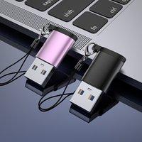 Metall USB3.1 Typ-C-OTG-Adapter Typ C bis USB 3.1 Daten-Konverter-Anschluss für das gesamte Typ C-Gerät mit Lanyard