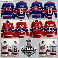 Gelo hóquei stanley copo final patch 2021 montreal canadiens 11 brendan gallagher jersey 6 shea weber jerseys costurado bom homem reverso retrô azul branco homens finais