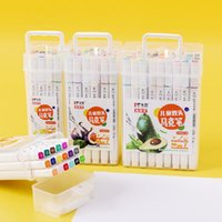 Marcatori Creative Children's Art Painting Double Testate Set Student Learning Supplies WaterColor Numero di nota