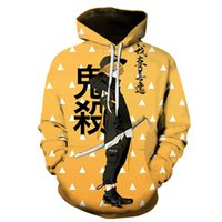 2021 new animation trend 3D clothing European men's Hoodie style Pullover Sweater