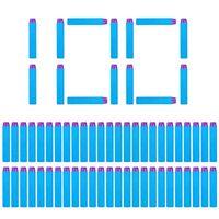 100 قطع السهام ل nerf لينة جوفاء هول رئيس 7.2 سنتيمتر إعادة الملء بروبل رصاصة كليفست بندقية الرصاص لسلسلة بتلات عيد الميلاد