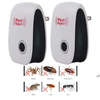 US UK EU PLUG petscontrol Electronic Silent Ultrasonic Pest Repeller Mosquito Rejector Mouse Anti killer Cockroach Rat Bug Rejection DWF7790