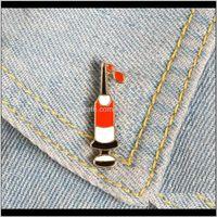 Pins syringe email ding blut benutzerdefinierte brüche tasche kleidung revers brosche pin abzeichen medizinische schmuck geschenk hämatologie doktor di9mk 2z4st