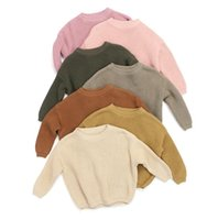 pure color pullover sweater winter boy girl kid thick Knitted bottoming turtleneck shirts solid