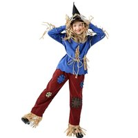 Halloween costumes children's men's and women's Cosplay Wizard of Oz lion grass man role play clothes
