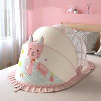 سرير مطلي بالمعاوضة طوي صافي البعوض للرضيات للأطفال للنوم جيدا سرير الأطفال بيع كله