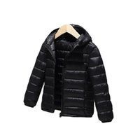 Vidmid Çocuk Erkek Kız Işık Aşağı Pamuk Giysileri Çocuk Katı Renk Mont Ceketler P5497 210930