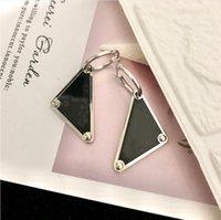 2021European American Letters Dangle Chandelier Triângulo Simples Geométrico Silvest Selvagem Brincos de Personalidade Alta Qualidade e Entrega Rápida