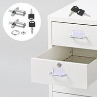 2pcs Push Plunger Lock Drawer Sliding Door Desk Wardrobe Fur...