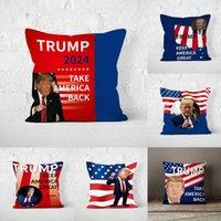 Трамп 2024 Кампания Личности Наволочка Двухсторонняя Цифровая Подушка для печати высокой четкости
