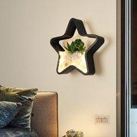 Nordic LED Crystal Aplique Luz Pared Arandela Schlafzimmer Licht Lampada Kamera Wohnzimmer Lampe Wand