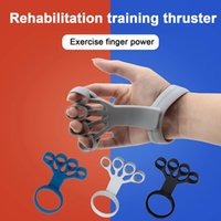Silicone Finger Antistress Fidget Toys Pop It Gripper Hand Resistance Band Gripping Ring Wrist Stretcher Forearm Trainer