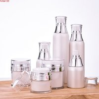 30ml 50ml 120ml Face CC Cream Mask Jar Pot Travel Acrylic Empty Cosmetic Skin Whitening Packing Containers Sample Refill Bottlegoods