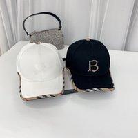 مخطط رجل مصمم قبعات البيسبول القبعات الجلود المرقعة الكرة كاب snapbacks النساء أزياء في الهواء الطلق الرياضة عارضة الهيب هوب قبعة