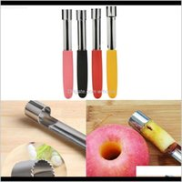 Vegetable Tools Kitchen, Dining Bar Home & Gardentwist Core Seed Remover Fruit Pear Easy Kitchen Tool Stainless Steel Corer Drop Delivery 202