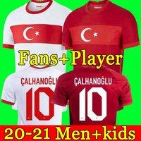 تركيا كرة القدم جيرسي 2021 Calhanoglu Celik Demiral Ozan Kabak Yazici Burak Kokcu كرة القدم قميص الرجال القمصان