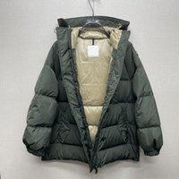 21ss Женщины down дизайнерские мужчины дамы downs пальто девочки открытый верхняя одежда куртка parkas coats зима повседневная перья густая толстая молния