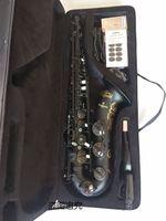 Sassofono tenore Giappone Yanagisawa T-992 Strumento musicale nero opaco di alta qualità professionale professionale per il sax con il boccaglio