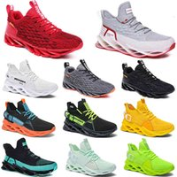 2021 men running shoes triple black white fashion mens women trendy great trainers breathable casual sports outdoor sneakers 40-45 color102