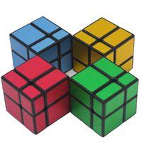 Hellocube Зеркало Блок 2x2 Куб Матовый Волшебный Куб Головоломка 2x2 Шубин Скорость Категориина Образовательный Образовательный Малыш Игрушка Падение Доставка