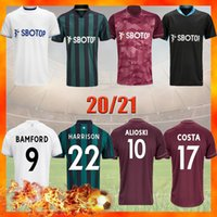 Leeds 2021 Fussball Jersey United 20 21 T Roberts Harrison Hernandez Costa Bamford Alioski Clarke Football Hemd Uniformen Männer Kids Kit