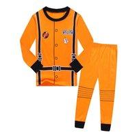 Pajamas Children Funny Astronauta Halloween Cosplay Costumes Kids Boys Girls Nightwear Clothing Christmas Pjs Sleepwear 2pcs Set