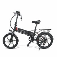Samebike 20lvxd30 10.4ah 48 V 350W 20 in Pieghevole Bike Electric 35km / h Velocità massima 80km Chilometraggio Max Load 120KG Bici E-bike City Bikes