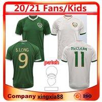 2020 아일랜드 FC 홈 멀리 축구 유니폼 2021 McClean McGoldrick 성인 남자 + 키트 키트 축구 셔츠