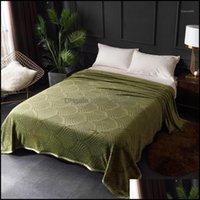 Comforters Sets Supplies Textiles & Garden39 Warm Winter Throw Blanket For Living Room Bedroom Sofa Plaid Quilt Bedspread Comforter Bed Er H