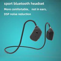 Bone conduction not in-ear wireless sports Bluetooth Headphones running ear-hook mobile phone MP3 music player headset dual stereo portable waterproof sweatproof