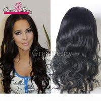 Nouveau Style 100% Cheveux humains non transformés Perruques pleines de dentelle pour femmes noires pour les cheveux de lace de cheveux humains abordables Great Remy