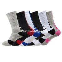 Fashion 2pcs=1pair USA Professional Elite Basketball Socks Long Knee Athletic Sport Socks Men Compression Thermal Winter FY7322 EE