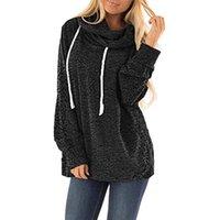 Women's Hoodies & Sweatshirts Sudaderas De Mujer Winter Womens Casual Fuzzy Fleece Hooded Sweatshirt Loose Drawstring Pullover Tops Ropa