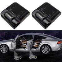 1pcs voiture LED de la porte sans fil Logo Lumière Shadow Lampe Projecteur Bienvenue Decor Accessoires laser pour1